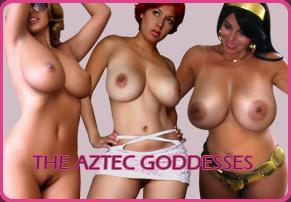 Aztec Pretty Big Boobs Goddess